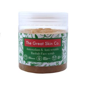 The Great Skin Co. Antioxidant & Anti-wrinkle Baobab Face scrub