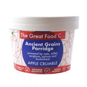 The Great Food Co. Pot Ancient Grains Apple Crumble