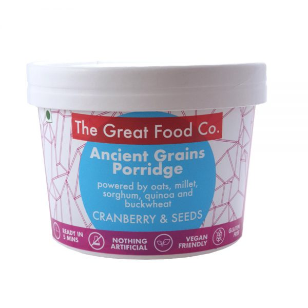The Great Food Co. Pot Ancient Grains Cranberry Seeds