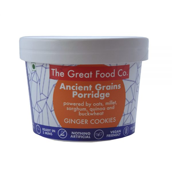 The Great Food Co. Pot Ancient Grains Ginger Cookies