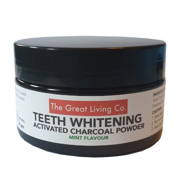 The Great Living Co. Activated Charcoal Teeth Whitening Powder